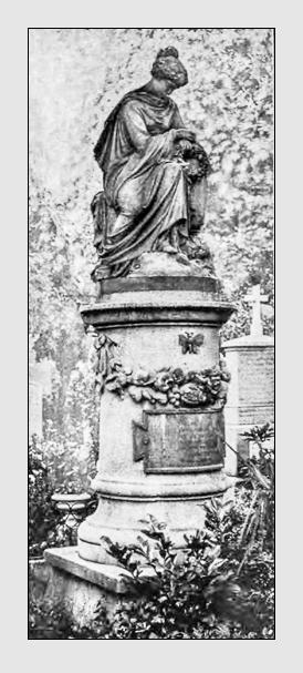 Grab der Familie Otto auf dem Alten Südfriedhof München. Abbildung aus: Kunst und Handwerk, Heft 3, 1906.