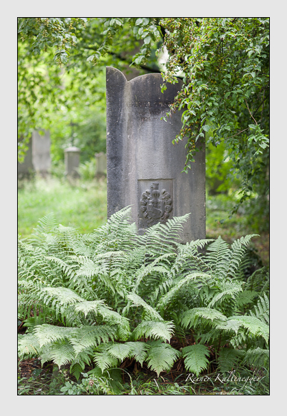 Grab der Familie Widder auf dem Alten Südfriedhof München (Juli 2007)