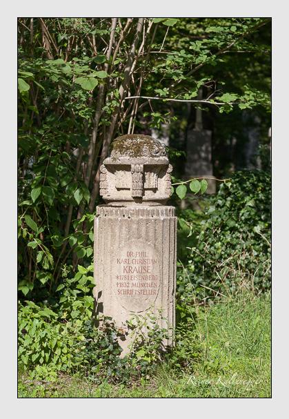Grab der Familie Krause auf dem Alten Südfriedhof München (August 2007)