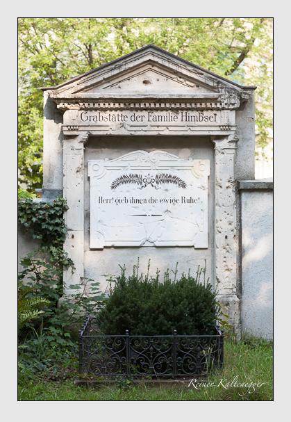 Grab der Familie Himbsel auf dem Alten Südfriedhof München (August 2007)