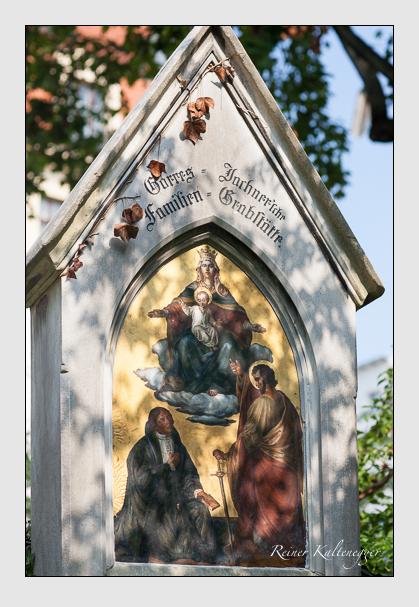 Grab der Familien Biegeleben · Ferstl · Görres · Jochner · Radl · Steingaß auf dem Alten Südfriedhof München (August 2007)