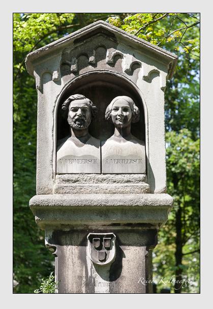 Grab der Familie Vermeersch auf dem Alten Südfriedhof München (August 2007)