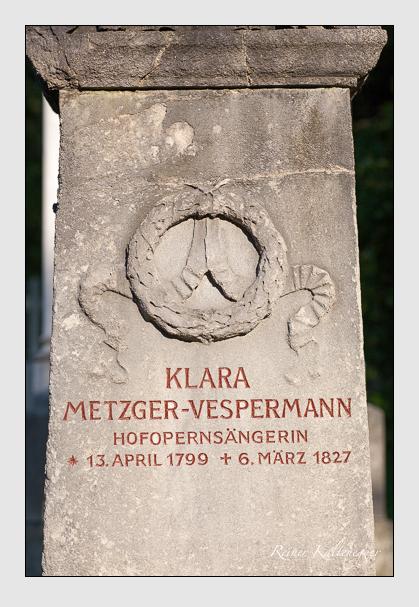 Grab der Familie Vespermann auf dem Alten Südfriedhof München (August 2007)