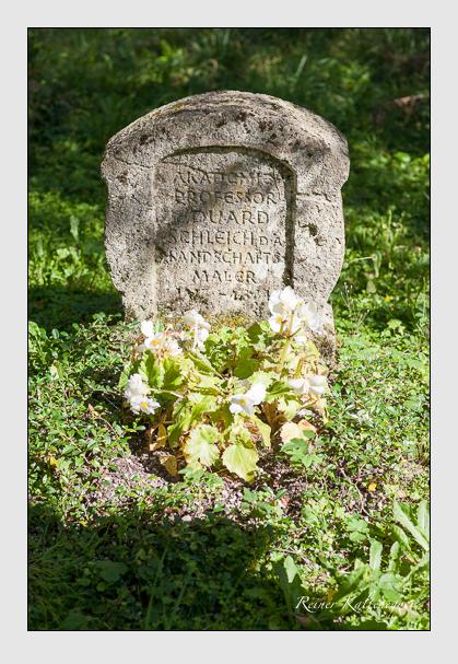 Grab der Familie Schleich auf dem Alten Südfriedhof München (August 2007)