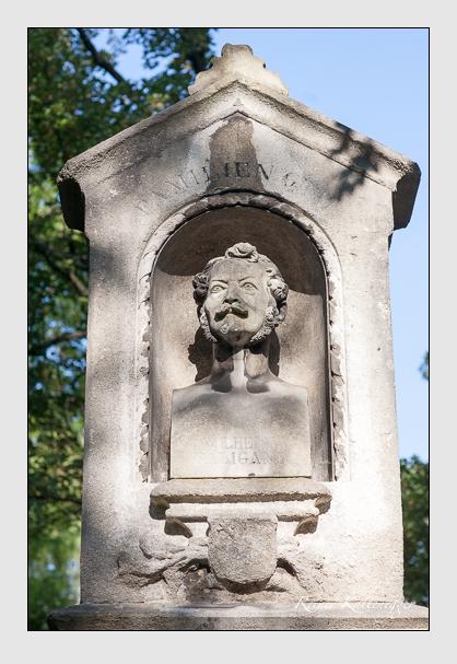 Grab der Familie Baligand auf dem Alten Südfriedhof München (August 2007)