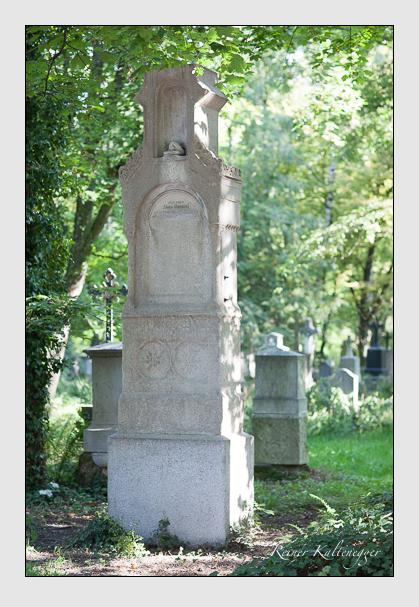 Grab der Familie Tambosi auf dem Alten Südfriedhof München (August 2007)