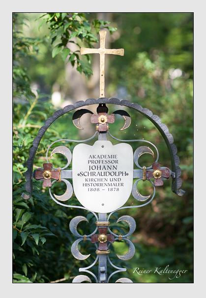 Grab der Familie Schraudolph auf dem Alten Südfriedhof München (August 2007)