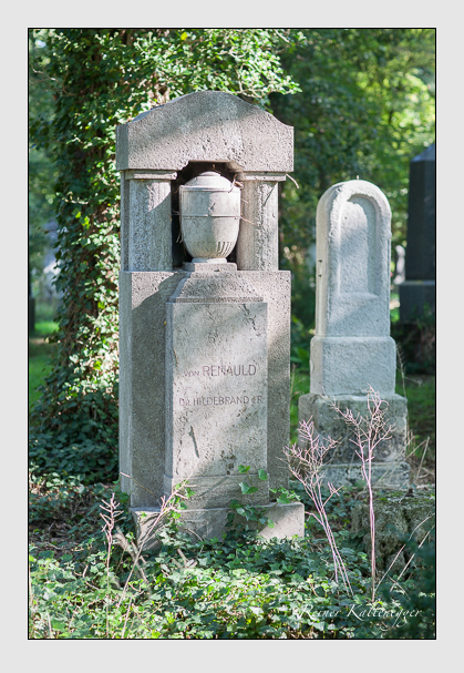 Grab der Familie Renauld von Kellenbach auf dem Alten Südfriedhof München (August 2007)