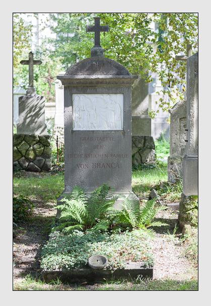Grab der Familie Branca auf dem Alten Südfriedhof München (August 2007)