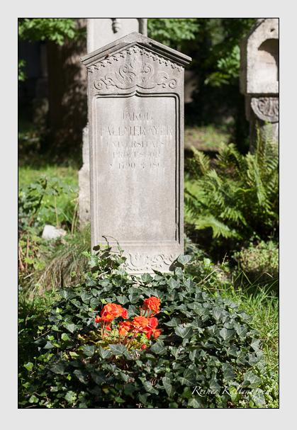 Grab der Familie Fallmerayer auf dem Alten Südfriedhof München (August 2007)