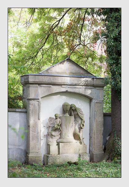 Grab der Familie Gumppenberg auf dem Alten Südfriedhof München (Oktober 2007)