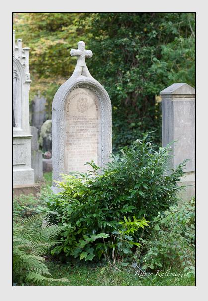 Grab der Familie Baader auf dem Alten Südfriedhof München (Oktober 2007)