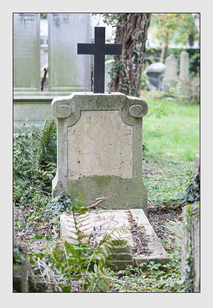Grab der Familie Delcroix auf dem Alten Südfriedhof München (Oktober 2007)