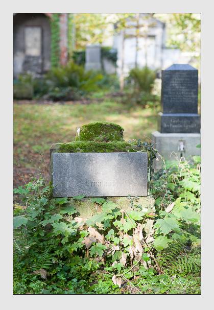 Grab der Familie Leimbach auf dem Alten Südfriedhof München (Oktober 2007)