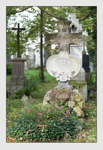 Grab der Familie Destouches auf dem Alten Südfriedhof München (Oktober 2007)