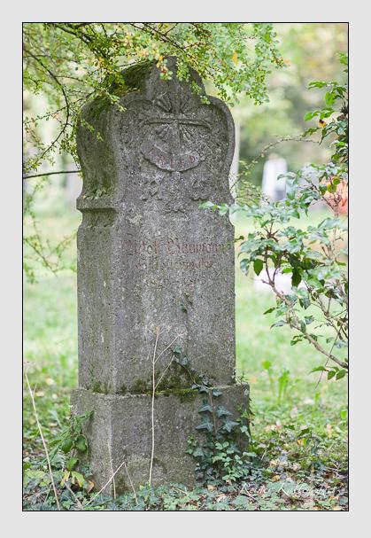 Grab der Familie Baumann auf dem Alten Südfriedhof München (Oktober 2007)