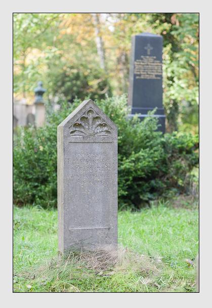 Grab der Familie Strähuber auf dem Alten Südfriedhof München (Oktober 2007)
