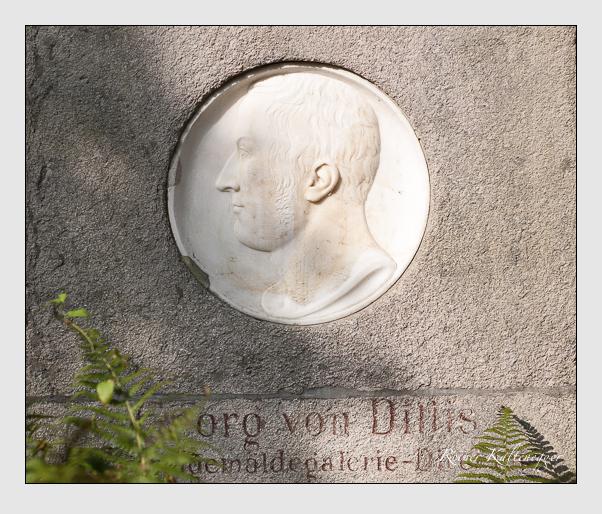 Grab der Familie Dillis auf dem Alten Südfriedhof München (Oktober 2007)