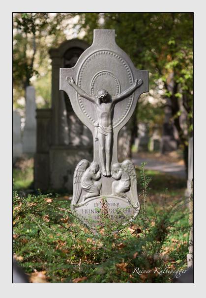 Grab der Familie Goeschl auf dem Alten Südfriedhof München (Oktober 2007)