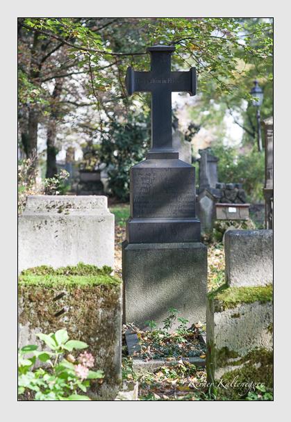 Grab der Familien Lamezan & Stromer-Reichenbach auf dem Alten Südfriedhof München (Oktober 2007)
