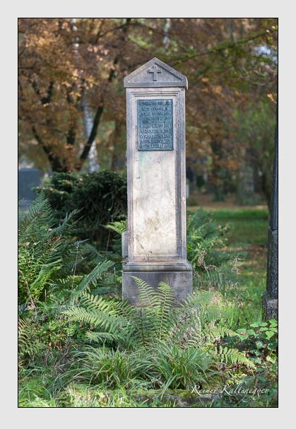 Grab der Familie Reinherz auf dem Alten Südfriedhof München (Oktober 2007)