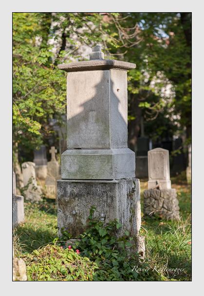 Grab der Familie Morawitzky auf dem Alten Südfriedhof München (Oktober 2007)