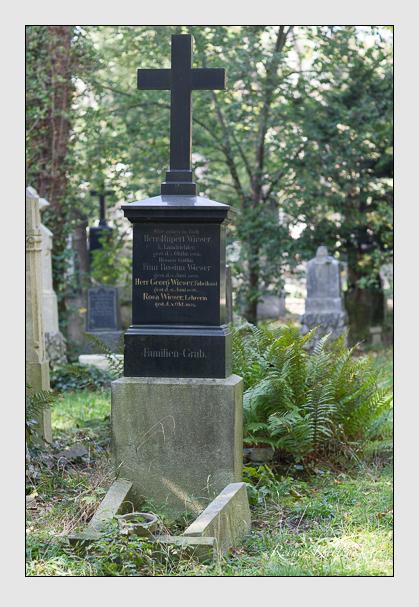 Grab der Familien Docen & Wieser auf dem Alten Südfriedhof München (Oktober 2007)