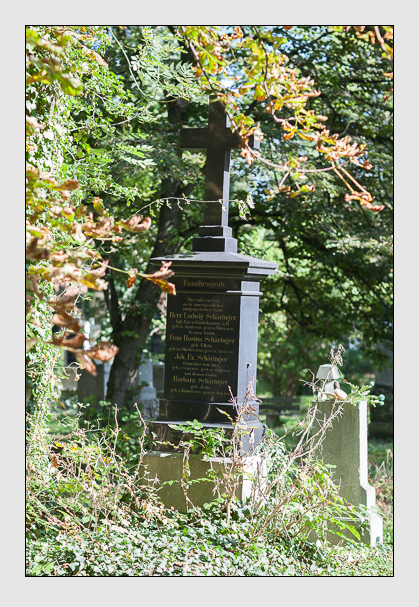 Grab der Familie Schäringer auf dem Alten Südfriedhof München (Oktober 2007)