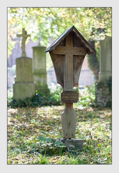 Grab der Familien Fanger & Hauttmann auf dem Alten Südfriedhof München (Oktober 2007)