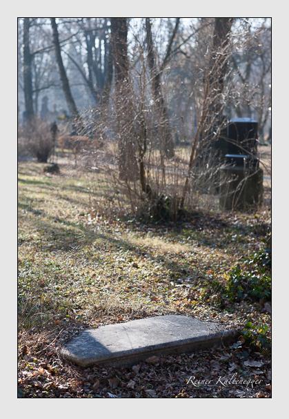 Grab der Familie Amsler auf dem Alten Südfriedhof München (Februar 2008)