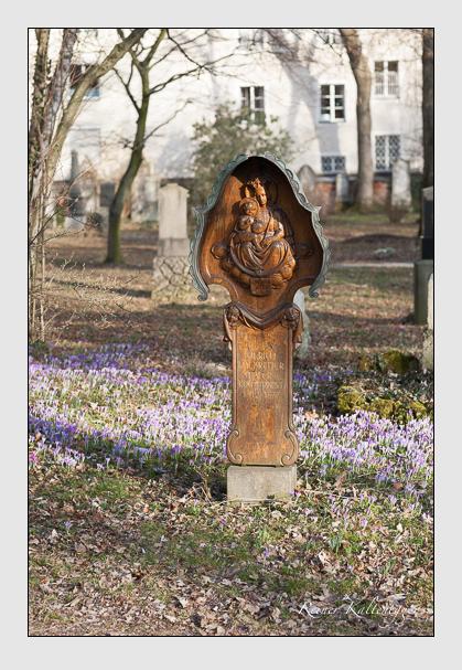 Grab der Familie Halbreiter auf dem Alten Südfriedhof München (Februar 2008)