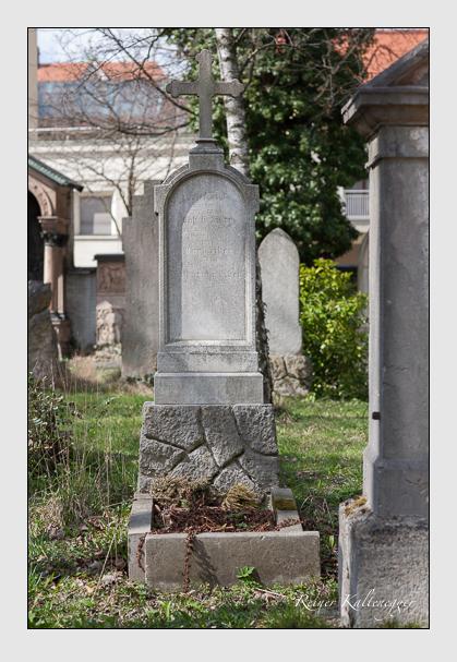 Grab der Familie Siber auf dem Alten Südfriedhof München (März 2008)