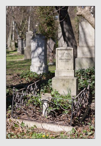 Grab der Familien Asen & Hutter auf dem Alten Südfriedhof München (März 2008)