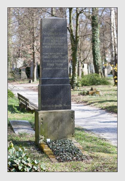 Grab der Familien Breton & Maron auf dem Alten Südfriedhof München (März 2008)