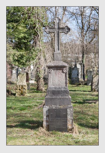 Grab der Familie Reithmayr auf dem Alten Südfriedhof München (März 2008)
