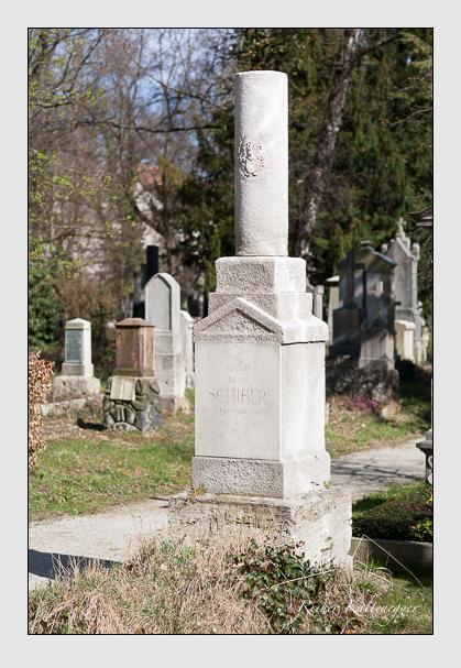 Grab der Familie Schiber auf dem Alten Südfriedhof München (März 2008)