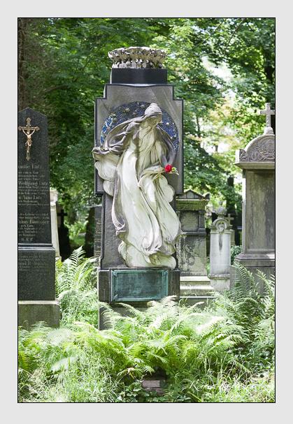 Grab der Familie Meier auf dem Alten Südfriedhof München (Juli 2008)