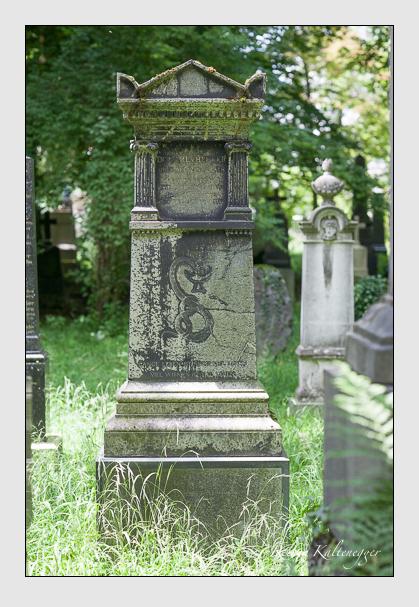 Grab der Familie Hecker auf dem Alten Südfriedhof München (Juli 2008)