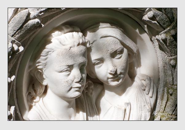 Grab der Familie Kluckhohn auf dem Alten Südfriedhof München (Juli 2008)