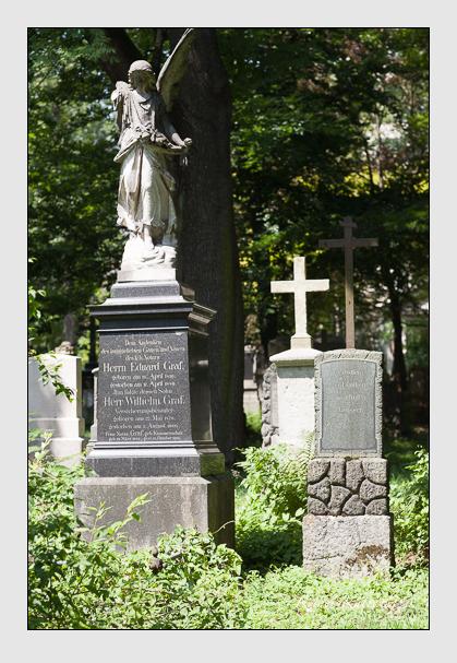 Grab der Familie Graf auf dem Alten Südfriedhof München (Juli 2008)