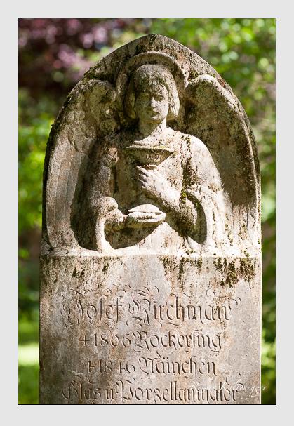 Grab der Familie Kirchmair auf dem Alten Südfriedhof München (August 2011)