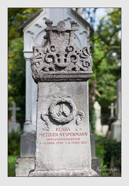 Grab der Familie Vespermann auf dem Alten Südfriedhof München (August 2011)