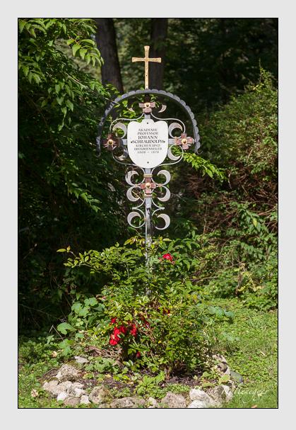 Grab der Familie Schraudolph auf dem Alten Südfriedhof München (August 2011)