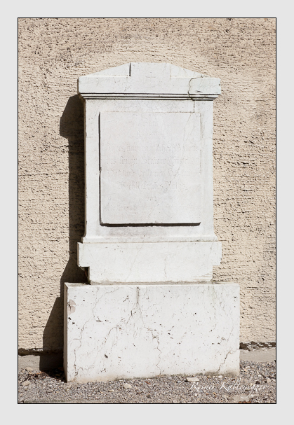 Grab der Familie Grainer auf dem Alten Südfriedhof München (August 2011)