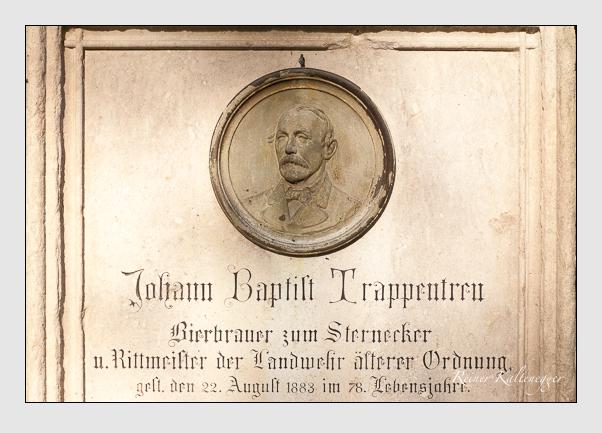 Grab der Familien Trappentreu & Wallpach auf dem Alten Südfriedhof München (September 2011)