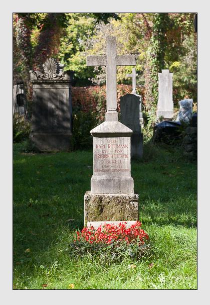 Grab der Familien Rottmann · Sckell · Zimmermann auf dem Alten Südfriedhof München (Oktober 2011)