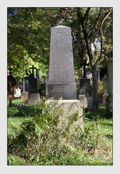 Grab der Familien Bauer · Bopp auf dem Alten Südfriedhof München (Oktober 2011)