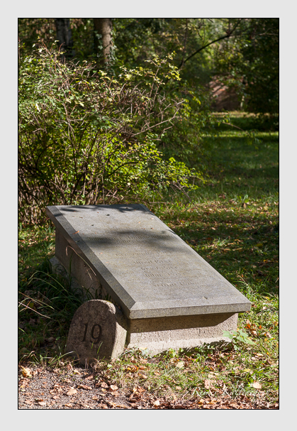 Grab der Familie Payr auf dem Alten Südfriedhof München (Oktober 2011)