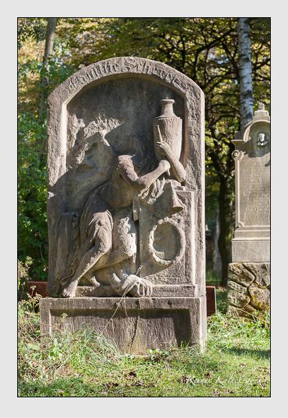 Grab der Familie Scherer auf dem Alten Südfriedhof München (Oktober 2011)