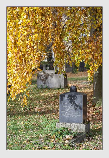 Grab der Familie Gessele auf dem Alten Südfriedhof München (November 2011)